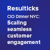 resulticks cio dinner nyc 2019