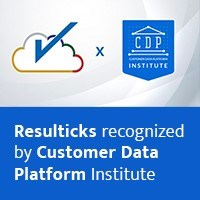 Resulticks recognized by Customer Data Platform Institute