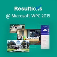 Resulticks @ the Microsoft World Partner Conference 2015