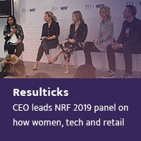 Resulticks CEO leads expert panel at NRF 2019 on how women and tech are transforming retail