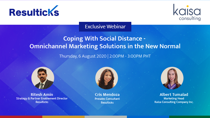 Coping with social distance - Omnichannel marketing solutions in the new normal