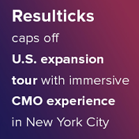 Resulticks caps off U.S. expansion tour with immersive CMO experience in New York City