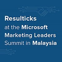 Resulticks at the Microsoft Marketing Leaders Summit in Malaysia