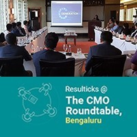 Resulticks at The CMO Roundtable