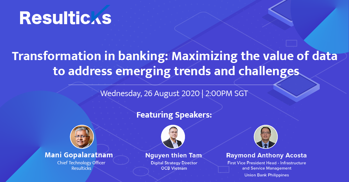 Transformation in banking: Maximizing the value of data to address emerging trends and challenges
